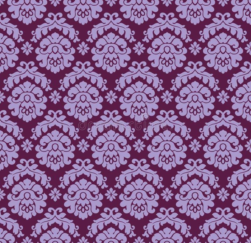 Ornamento Violet_d ilustração do vetor