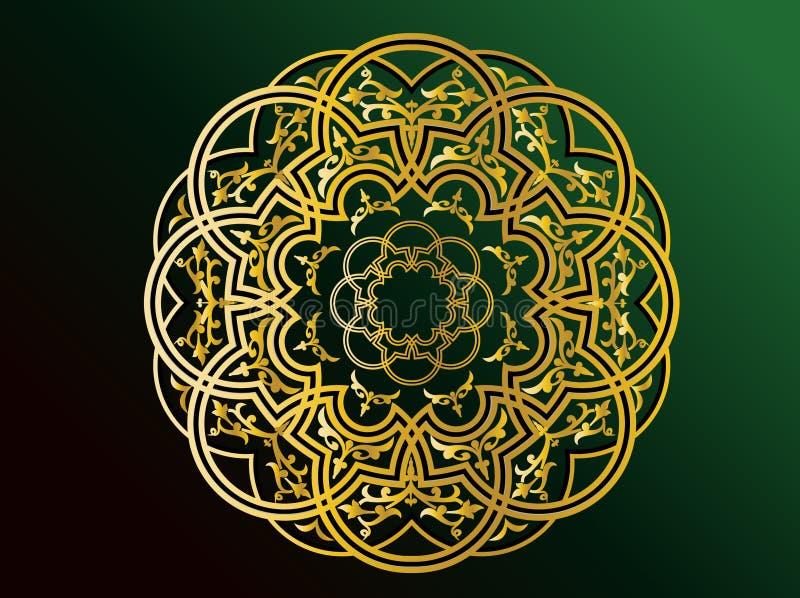 Ornamentos árabes ilustración del vector