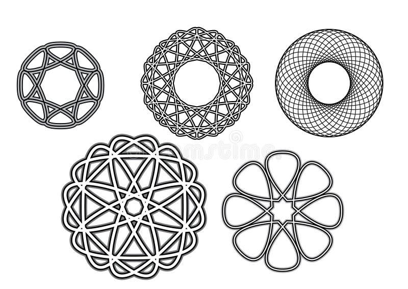Ornamentos stock de ilustración