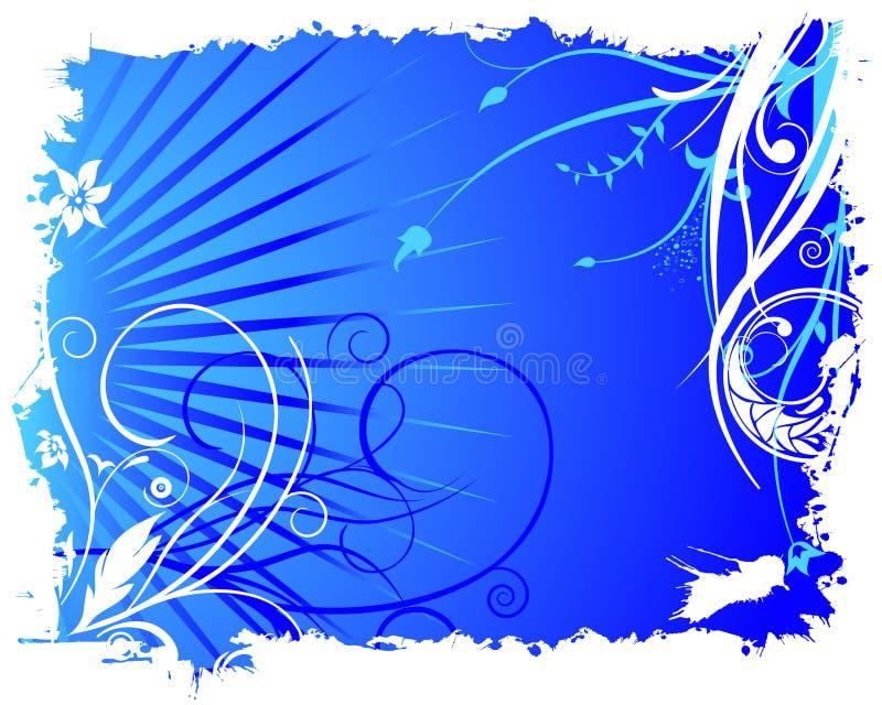 Ornamentos de la flor   ilustración del vector