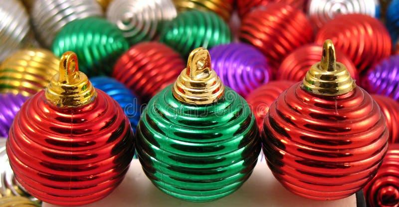 Ornamentos de la Navidad fotografía de archivo libre de regalías