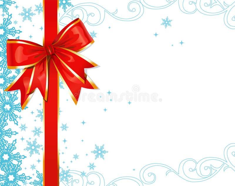 Ornamentos de la Navidad/fondo del vector libre illustration