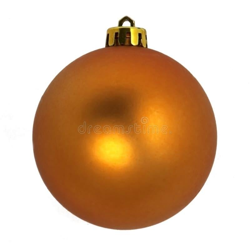 Ornamentos del árbol de navidad Bola decorativa Aislado en el fondo blanco imágenes de archivo libres de regalías