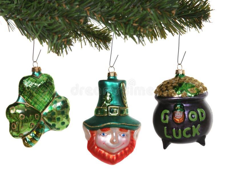 Ornamentos del día de Patricks del santo fotos de archivo