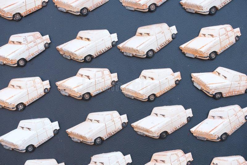 ornamentos del refrigerador de la espuma de mar fotografía de archivo