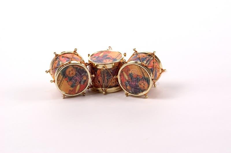 Ornamentos del tambor imagen de archivo