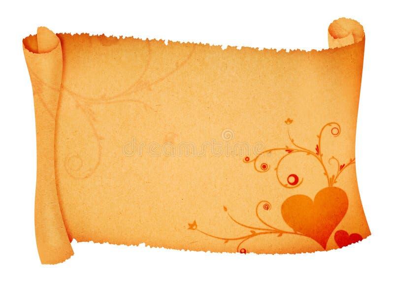 Ornamentos en el papel del desfile libre illustration