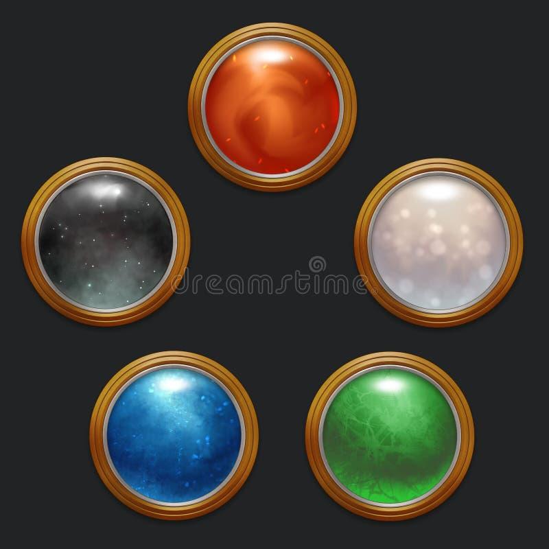 Ornamentos mágicos libre illustration