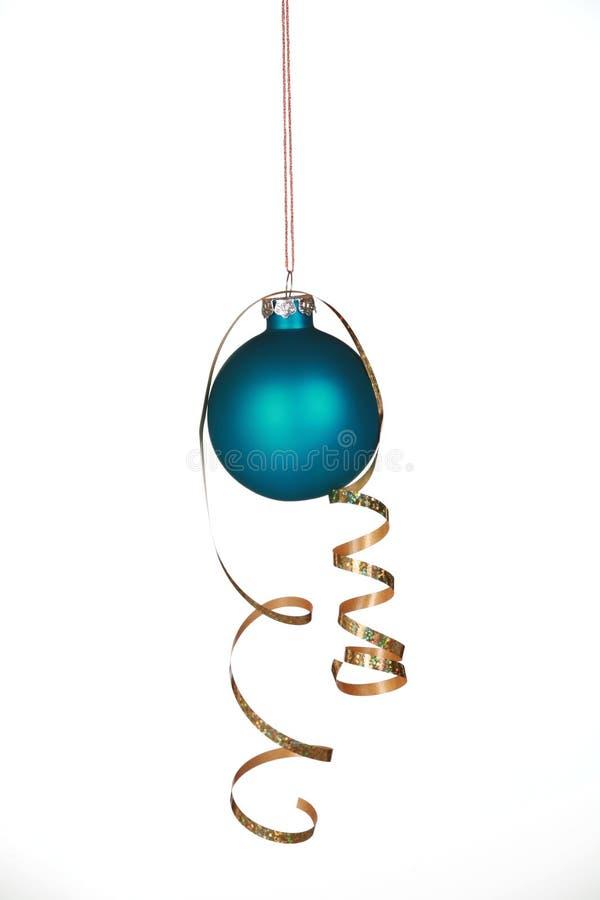ornamentu piękny błękitny faborek fotografia stock