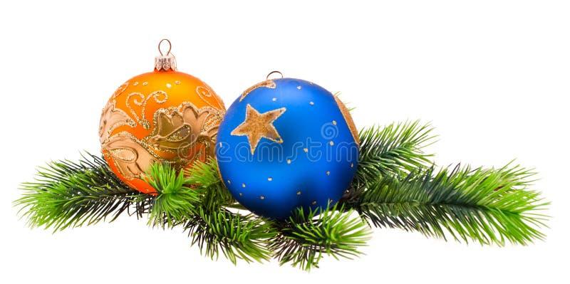 ornamentuje s drzewa rok zdjęcie stock