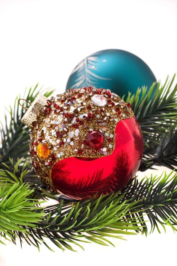 ornamentuje s drzewa rok zdjęcie royalty free