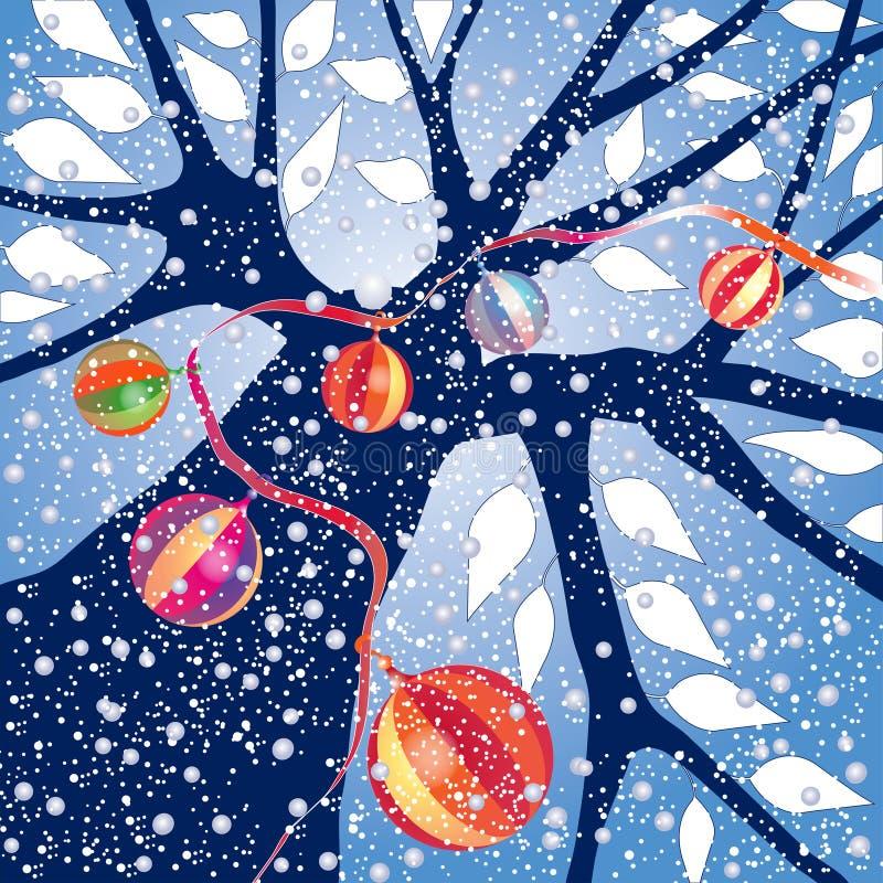 ornamentuje zima ilustracja wektor