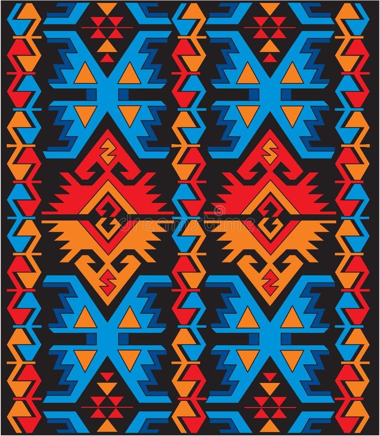 ornamenty etniczni ornamenty royalty ilustracja