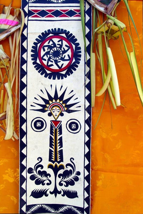 Ornamenty, w hinduist świątyni w Bali obraz royalty free