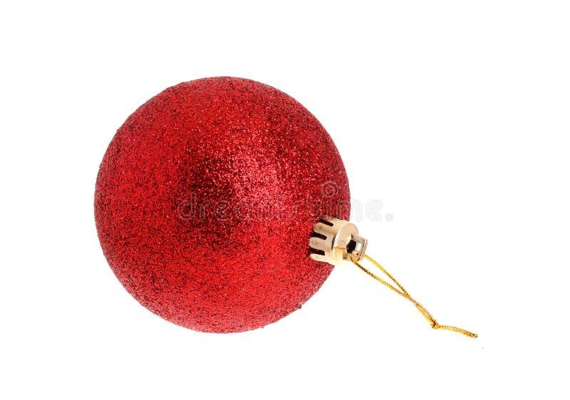 Ornamnet rojo de la Navidad fotos de archivo libres de regalías