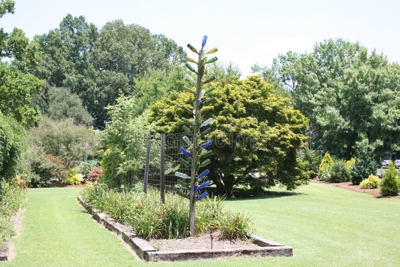 Ornanmental skärm på västra Tennessee Agricultural Research Center royaltyfri bild