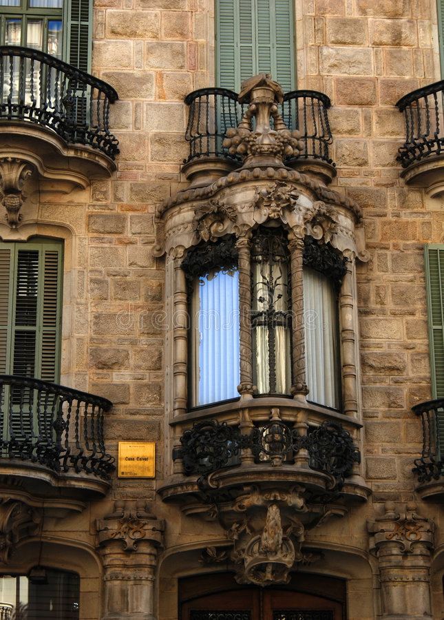 Download Ornate Balconies Royalty Free Stock Images - Image: 3576769