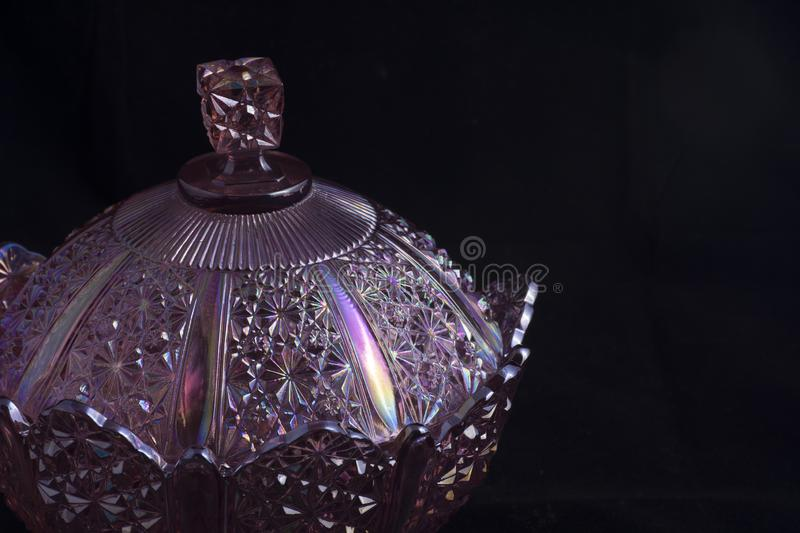Ornate candy dish royalty free stock images
