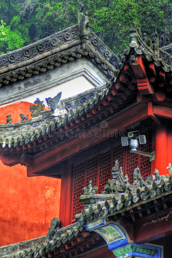 Ornate Chinese Temple Royalty Free Stock Photo