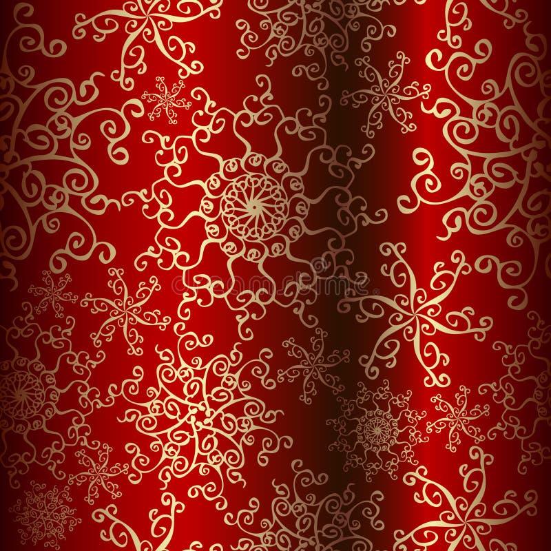 Ornate christmas background vector illustration
