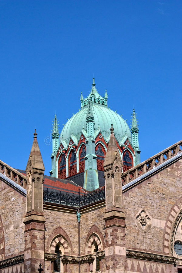 Download Ornate copper dome stock photo. Image of ornate, massachusetts - 5375398