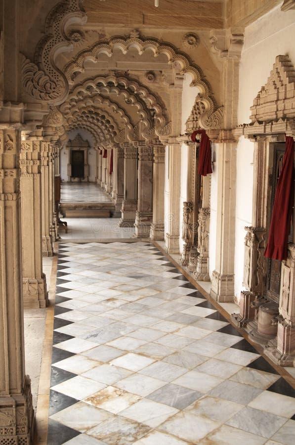 Download Ornate corridor stock photo. Image of mosaic, courtyard - 3965392