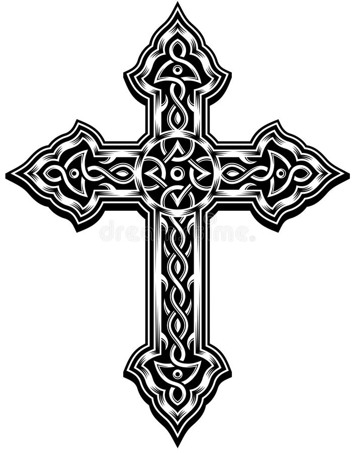 Free Ornate Cross Vector Stock Photos - 33684783