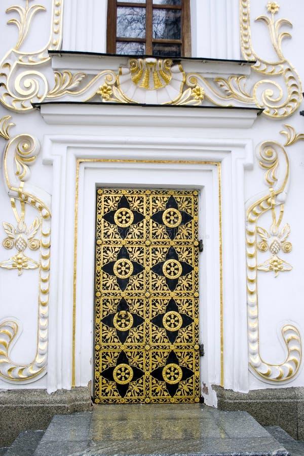 Ornate door royalty free stock photos