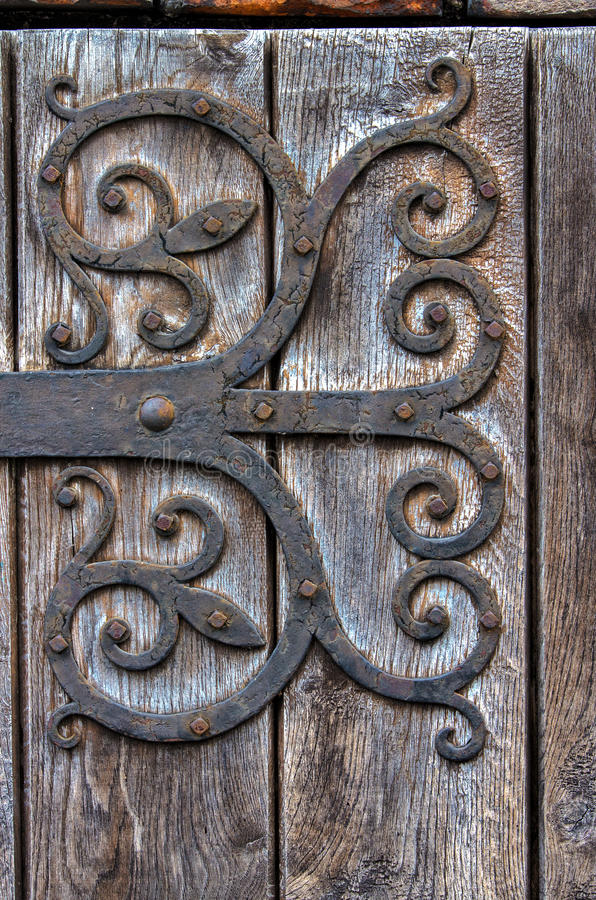 Ornate door royalty free stock photos