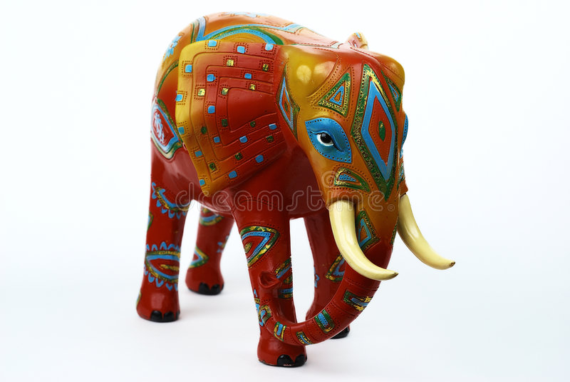 Ornate Elephant royalty free stock photo