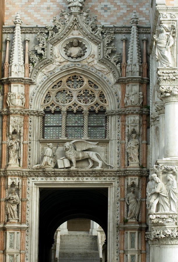 Ornate Facade Royalty Free Stock Images