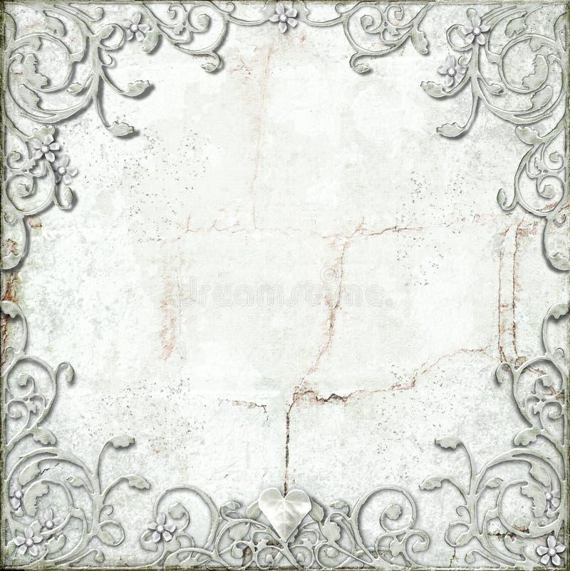 Download Ornate flourish border stock illustration. Image of grunge - 22923126