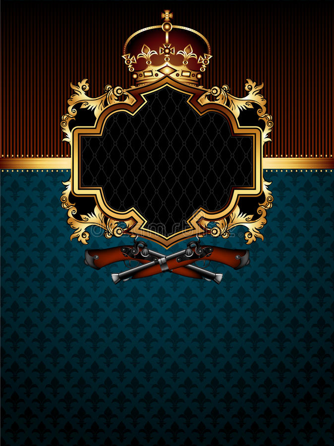 Download Ornate frame stock vector. Image of medieval, decor, heraldic - 25729562