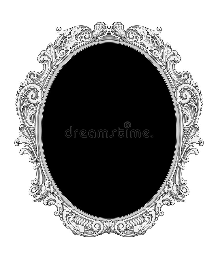 Download Ornate frame vector stock vector. Image of design, luxury - 8855762