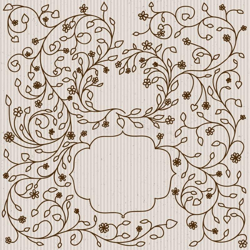 Ornate frames and borders vector illustration