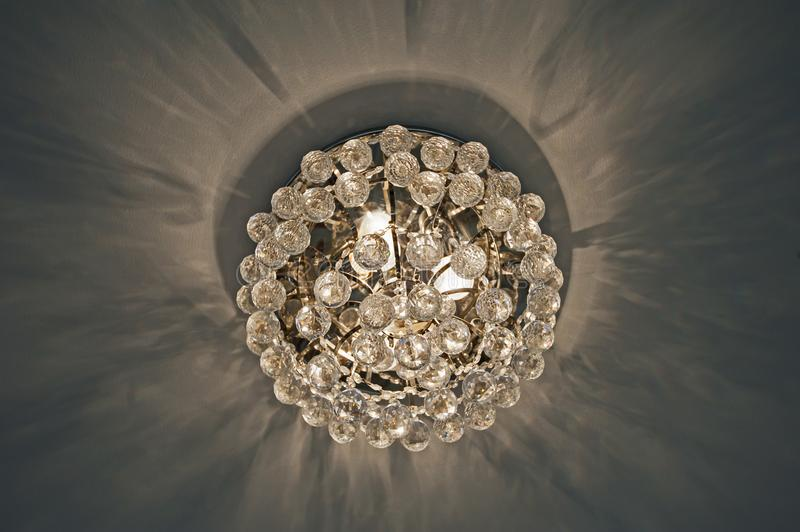 Ornate chandelier style ceiling light inside luxury apartment stock download ornate chandelier style ceiling light inside luxury apartment stock image image of glass aloadofball Image collections