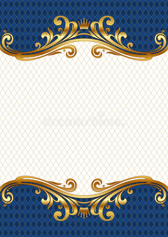 Free Ornate Golden Frame Stock Photos - 10300823