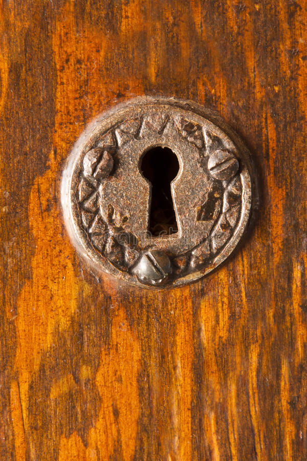 Download Ornate Keyhole stock photo. Image of metal, detail, keyhole - 22950002