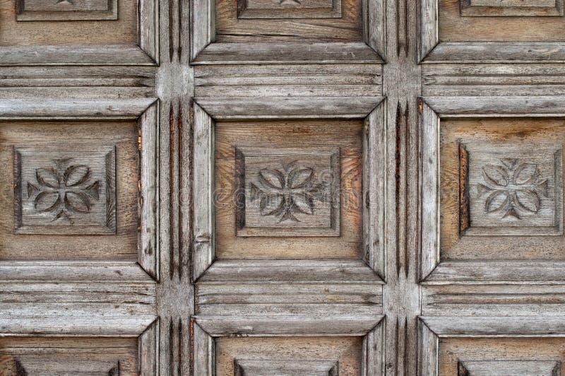 Download Ornate old wood stock image. Image of brown, above, hardwood - 26555181
