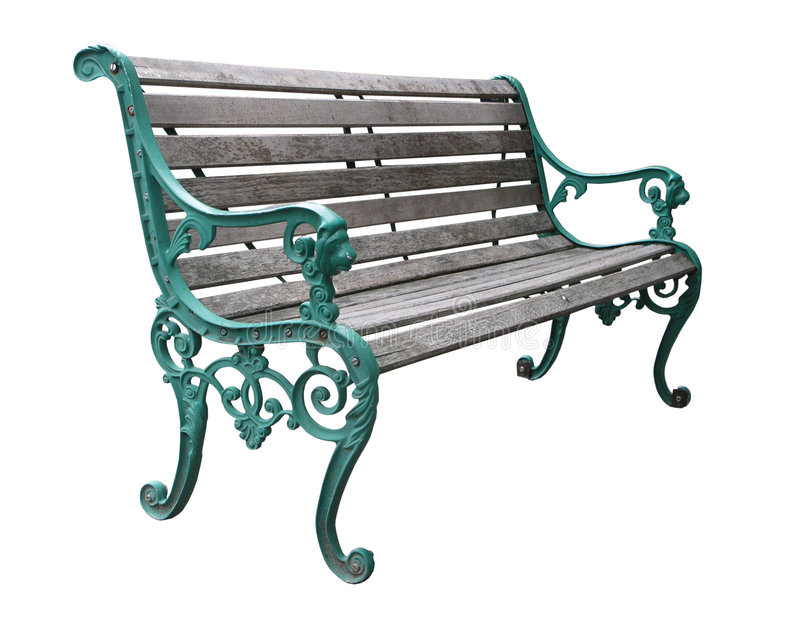 Download Ornate Park Bench stock photo. Image of simplicity, elegance - 3822060