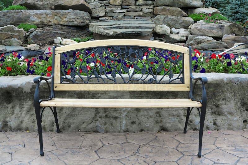 Ornate Park Bench Stock Photo Image 32997650