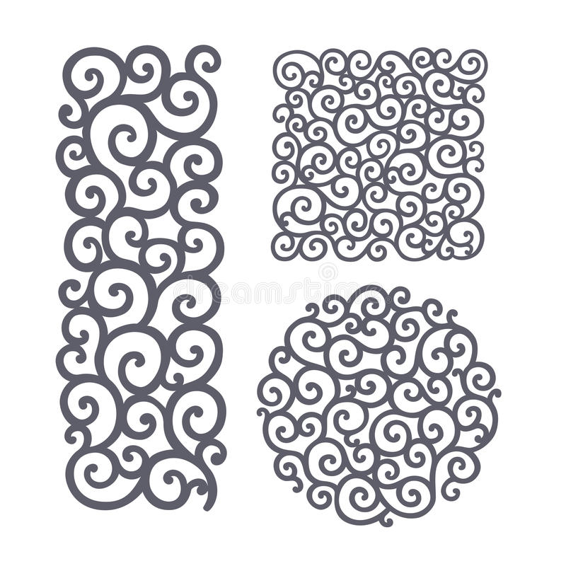 Free Ornate Pattern For Cutting Royalty Free Stock Images - 71142559