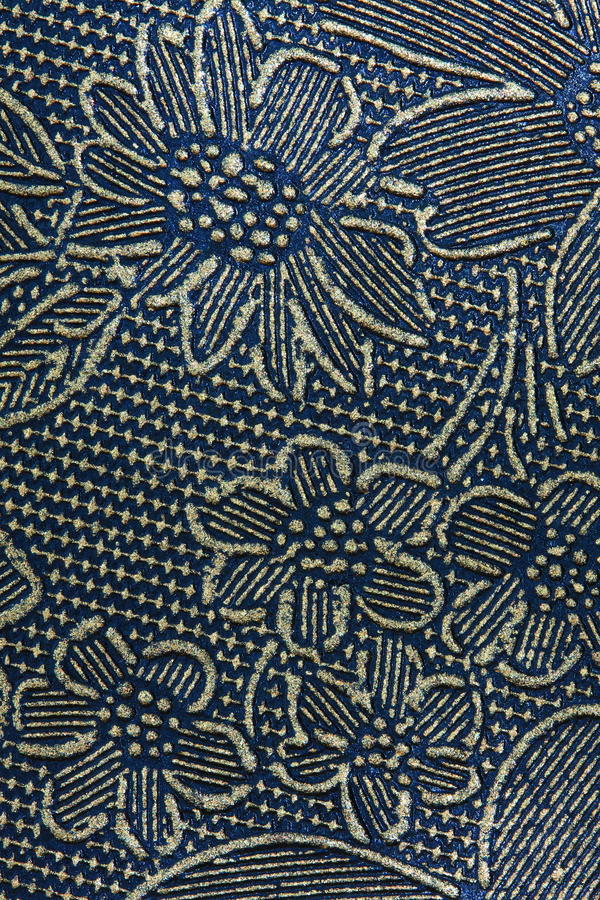 Ornate Pattern Texture. A background texture pattern of flowers royalty free stock images