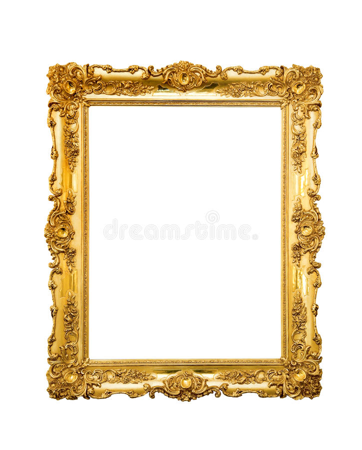 Download Ornate picture frame stock image. Image of background - 27002839