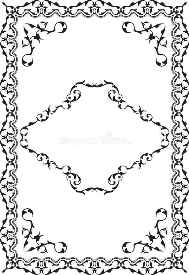 ornate swirl stock vector  illustration of curled  outline