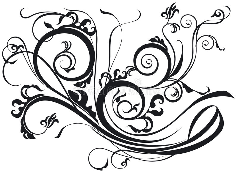 Download Ornate Scroll stock vector. Illustration of design, graphic - 3030233