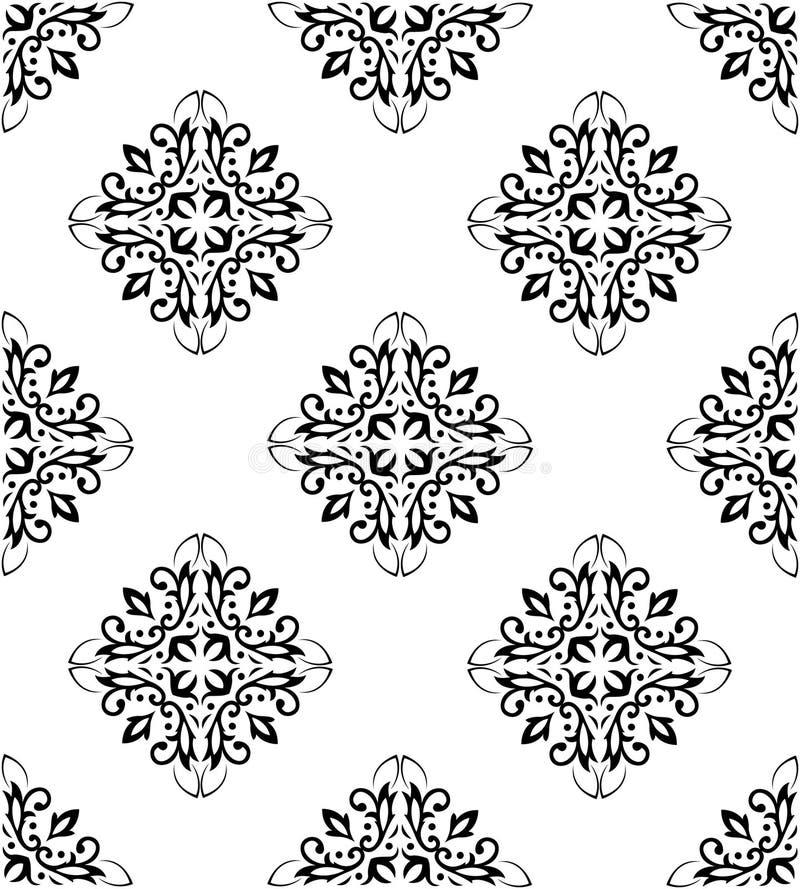 Ornate seamless pattern stock photography