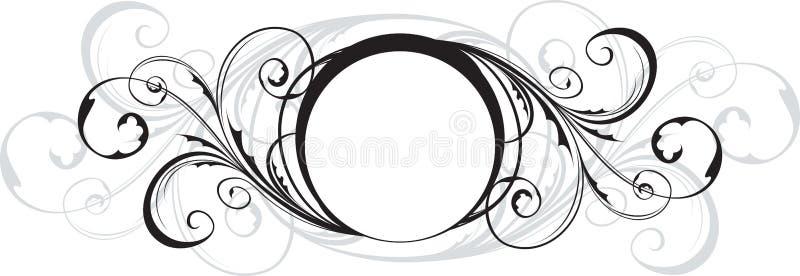 Download Ornate shield stock illustration. Image of place, filigree - 12739095