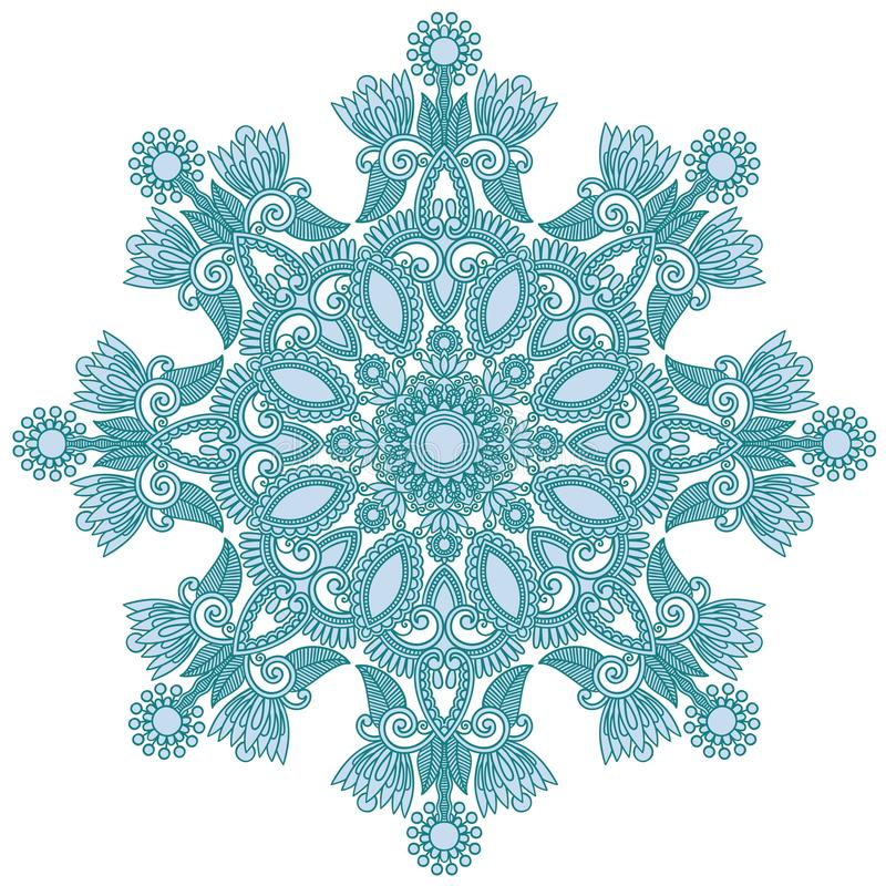 Download Ornate snowflake stock vector. Image of element, fantasy - 22458849