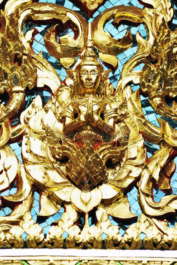 Download Ornate Statue In Wat Pho (Pho Temple), Bangkok, Thailand Stock Photo - Image: 32387826